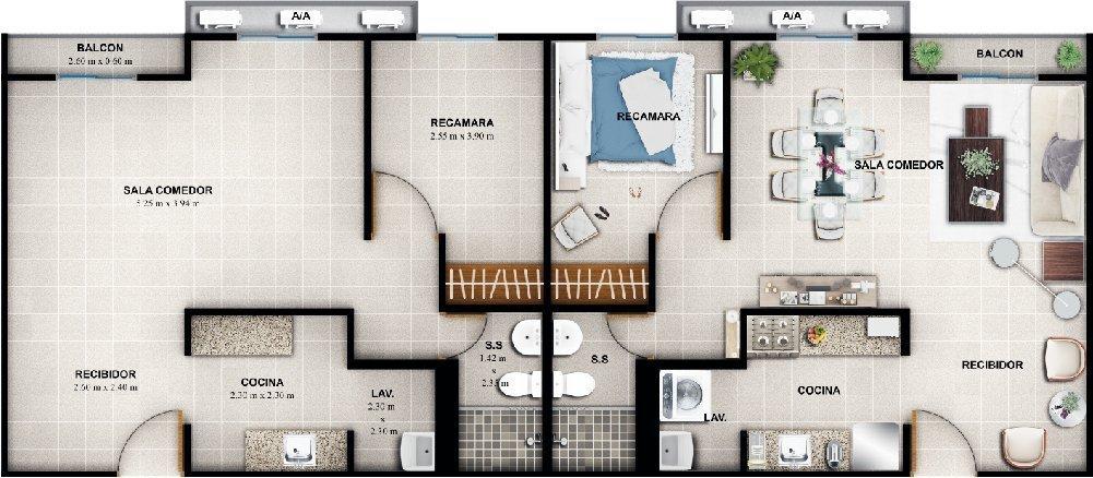 Apartamentos en Panamá Proyectos de Apartamentos en Panamá Económicos en venta Jardines del Este vis copia 3